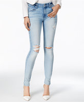7 For All Mankind Ripped Skinny Jeans