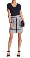 Amanda & Chelsea A-Line Chain Print Skirt