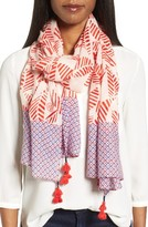 Tory Burch Women's Palmetto Wool Scarf