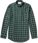 Public School - Retor Slim-fit Button-down Collar Checked Cotton-twill Shirt