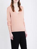 Theory Yulia silk-blend jumper