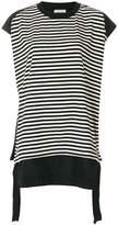 Moncler striped short-sleeve T-shirt