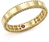 Roberto Coin 18K Yellow Gold Symphony Braided-Edge Ring