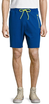 Bikkembergs Cotton Side Striped Shorts