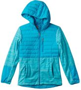 Free Country Girls 4-6 Fleece & Down Hybrid Midweight Jacket