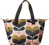 Orla Kiely Stripe Rosebud Zip Shopper - Small