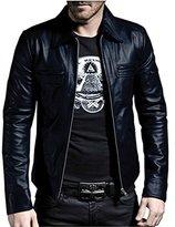 Laverapelle Men's Genuine Lambskin Leather Jacket - 1510200 - 2XL