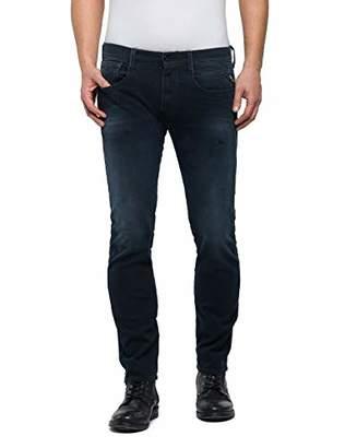 Replay Men's Anbass Slim Jeans,W38/L36 (Size: 38)