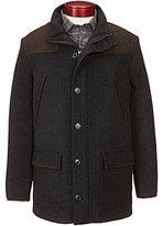 Daniel Cremieux Signature Wool & Faux-Suede Field Coat