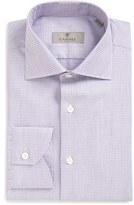 Canali Men's Regular Fit Print Dress Shirt