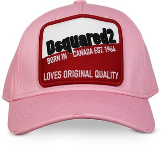DSQUARED2 Cotton Gabardine Cotton Baseball Cap