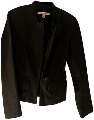 Twenty8Twelve By S.Miller By S.miller Anthracite Leather Leather Jacket for Women
