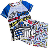 Disney R2-D2 PJ PALS Short Set for Boys - Star Wars