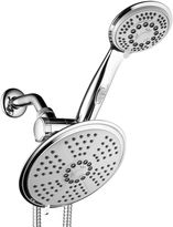 DREAMSPA DreamSpa Ultra-Luxury 38-setting 3-way RainfallShower Combo with Patented ON/OFF Pause Switch and5-ft. to7-ft. Stretchable Stainless Steel Hose