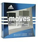Coty Adidas - Moves Him: 1.0 FL Oz EDT and 0.5 FL Oz EDT + FREE Old Spice Deadlock Spiking Glue, Travel Size, .84 Oz