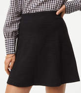 LOFT Seamed Flippy Skirt