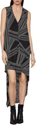 BCBGMAXAZRIA Optic Georgette Dress