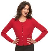 Elle Women's ELLETM Cropped Bow Cardigan
