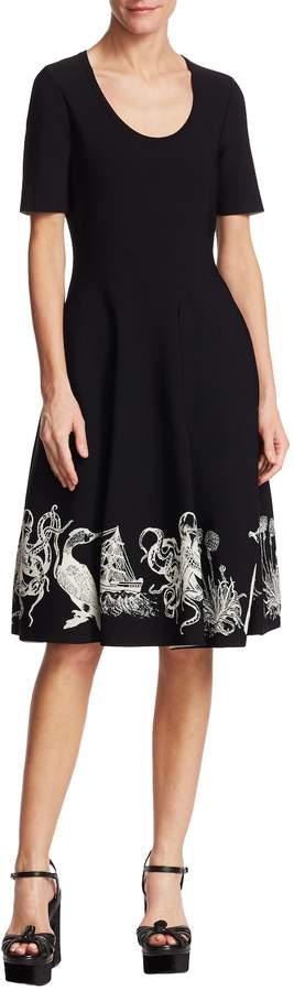 Alexander McQueen Women's Detailed Hem Dress