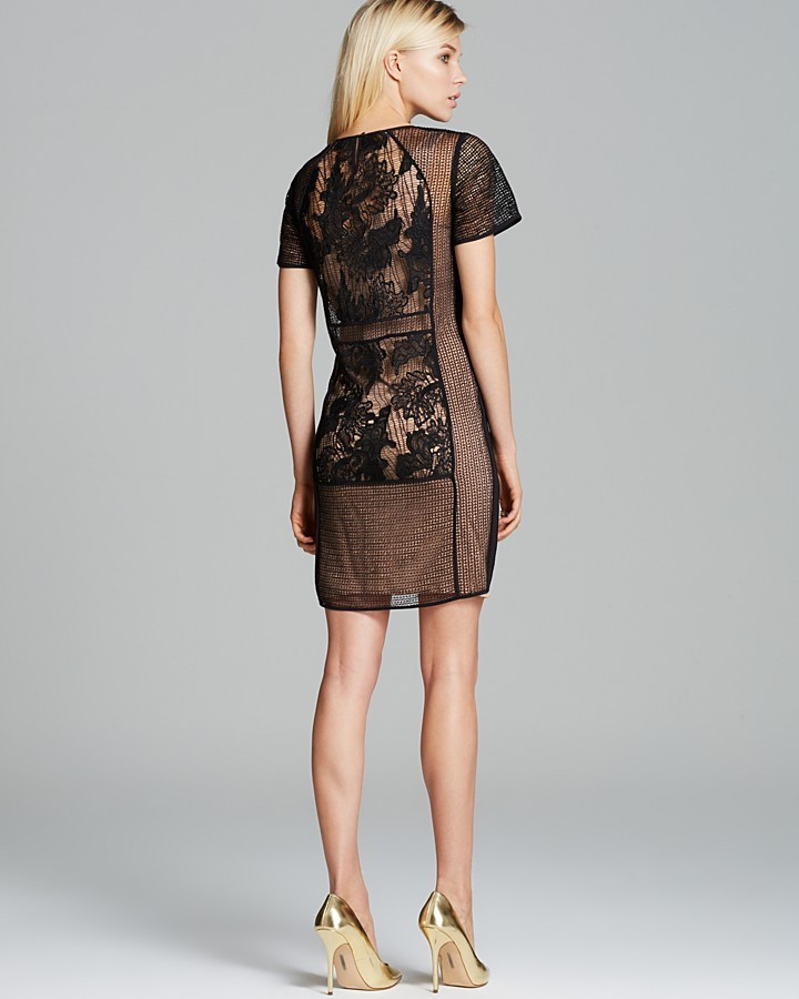 Rebecca Taylor Dress - Floral Lace Tee