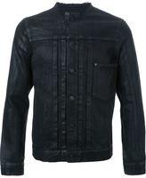 Hl Heddie Lovu collarless denim jacket