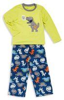 Petit Lem Toddler's & Little Boy's 2-Piece Tee & Pant Pajama Set