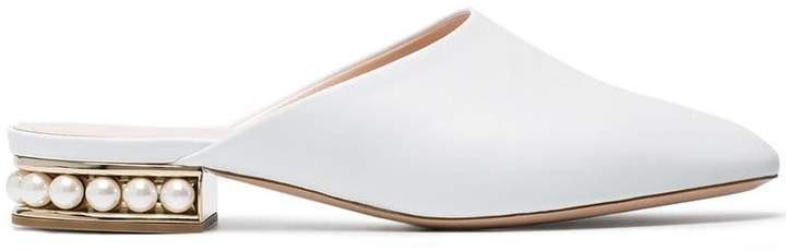 Nicholas Kirkwood Casati Pearl Slippers