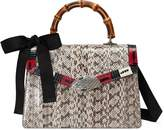 Gucci Lilith snakeskin top handle bag