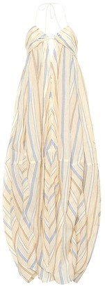 Jacquemus La Robe Calci cotton and linen dress