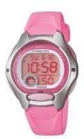 Casio Wmns Digital Watch Pink Band Dual Time,, Alarm 50M WR - Ladies - LW200-4BV