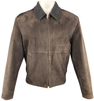 Salvatore Ferragamo Brown Shearling Jackets