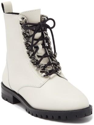 Rebecca Minkoff Janyi Chain Lace-Up Combat Boot