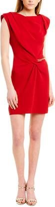 The Kooples Crepe & Knot Mini Dress