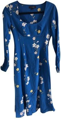 Intermix Blue Silk Dresses