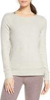 Beyond Yoga In Line Reversible Ribbed Pullover