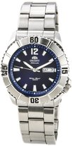Orient EM7C004D Men's Thresher Stainless Steel Automatic Dial Watch