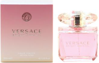 Versace Women's Bright Crystal 6.7Oz Edt Spray