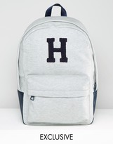 Tommy Hilfiger Varsity Backpack Exclusive To ASOS In Gray