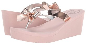GUESS Siarra (Gold Synthetic) Women's Sandals
