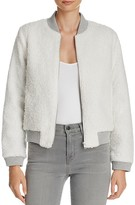 BB Dakota Jessie Faux Sherpa Bomber Jacket - 100% Bloomingdale's Exclusive