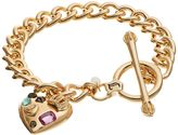 Juicy Couture Heart Charm Toggle Bracelet