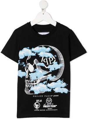 Philipp Plein Monogram Graphic-Print T-Shirt