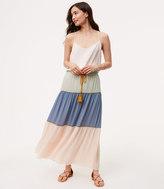 LOFT Petite Poolside Maxi Skirt