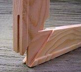 MASTERPIECE Standard Canvas Stretcher Strips 2 (two) 10 inch