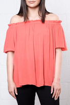 Vero Moda Off Shoulder Crepe Top