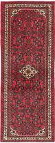 """Ecarpetgallery Hand-knotted Hosseinabad Red Wool Rug 2'5""""x6'3"""""""