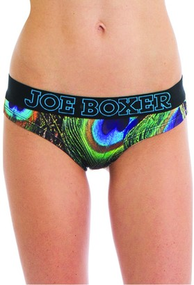 Joe Boxer Women's Peacock Hipster Underwear