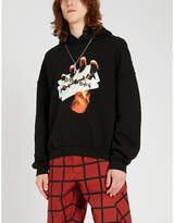 Misbhv The Razor cotton-blend jersey hoody