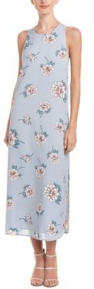 J.o.a. Women's Floral Print Maxi Dress