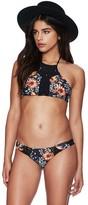 Beach Riot Sari High Neck Macramé Bikini Top